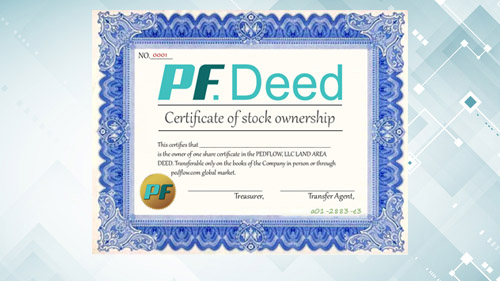 Earn PED by investing in PF Deeds.